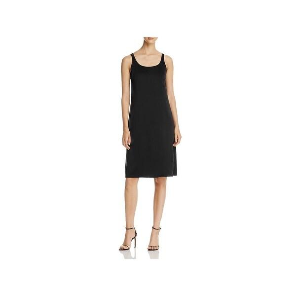 e13a5255aa3af Shop Eileen Fisher Womens Slip Dress Silk Sleeveless - Free Shipping ...