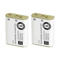 Replacement Battery For Panasonic KX-TD7896 Cordless Phones - P103 (750mAh, 3.6V, NiMH) - 2 Pack