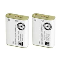 Replacement For Panasonic N4HHGMB00001 Cordless Phone Battery (750mAh, 3.6V, NiMH) - 2 Pack