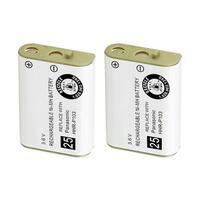 Replacement For Panasonic N4HHGMB00005 Cordless Phone Battery (750mAh, 3.6V, NiMH) - 2 Pack