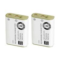 Replacement For Panasonic P103 Cordless Phone Battery (750mAh, 3.6V, NiMH) - 2 Pack