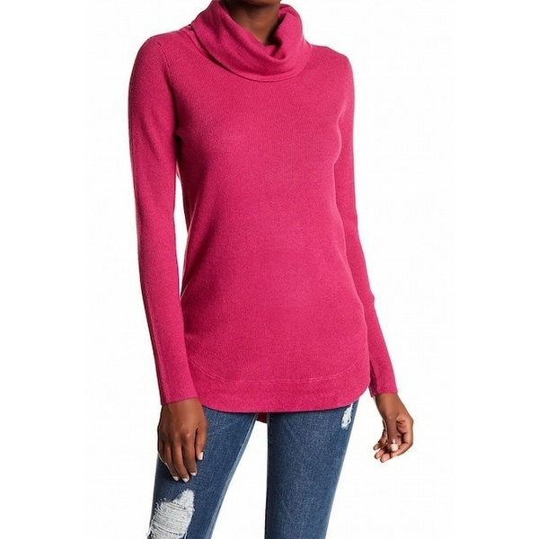 878dde16b2c8 Shop Cyrus NEW Raspberry Pink Womens Size XL Long Sleeve Turtleneck Sweater  - Free Shipping Today - Overstock - 21465062