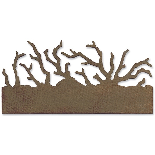 "Sizzix On The Edge Die By Tim Holtz 2.75""X6.625""-Twigs"