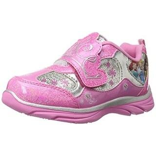 Disney Girls Princess Casual Shoes Light Up