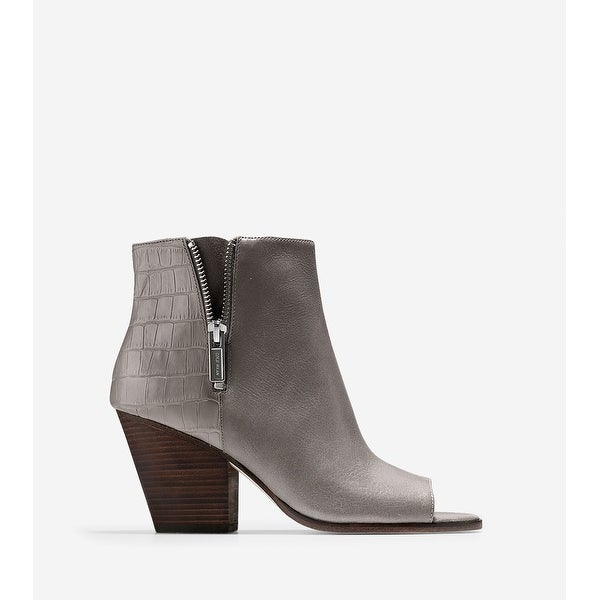 Cole Haan Womens Lundy Peep Toe Ankle Fashion Boots - 8.5
