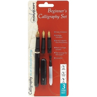 Manuscript Beginner's Calligraphy Set