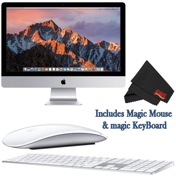 Shop Apple iMac MNEA2LL/A 27 Inch, 3 5GHz Intel Core i5, 8GB RAM