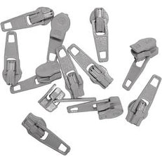 Gray - Make-A-Zipper Spare Pulls
