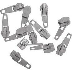 Gray - Make-A-Zipper Spare Pulls