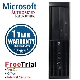 Refurbished HP Compaq 6000 Pro SFF DC E6300 2.8G 8G DDR3 250G DVD Win 7 Pro 64 Bits 1 Year Warranty