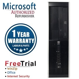 Refurbished HP Compaq 6005 Pro SFF AMD Athlon II x2 B24 3.0G 4G DDR3 160G DVD Win 7 Pro 64 Bits 1 Year Warranty