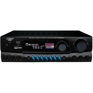 Pyle Home Audio Receiver. 300W RMS @ 8 Ohm
