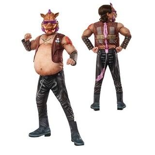 Boys Deluxe TMNT Bebop Pig Halloween Costume