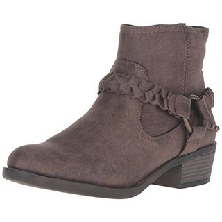 XOXO Womens Glorius Ankle Boots Distressed Harness - 6 medium (b,m)