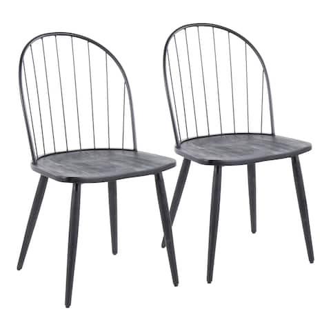 Carbon Loft Ellul High Back Dining Chair (Set of 2)