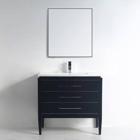 "Ayer 36"" Single Bathroom Vanity Set"