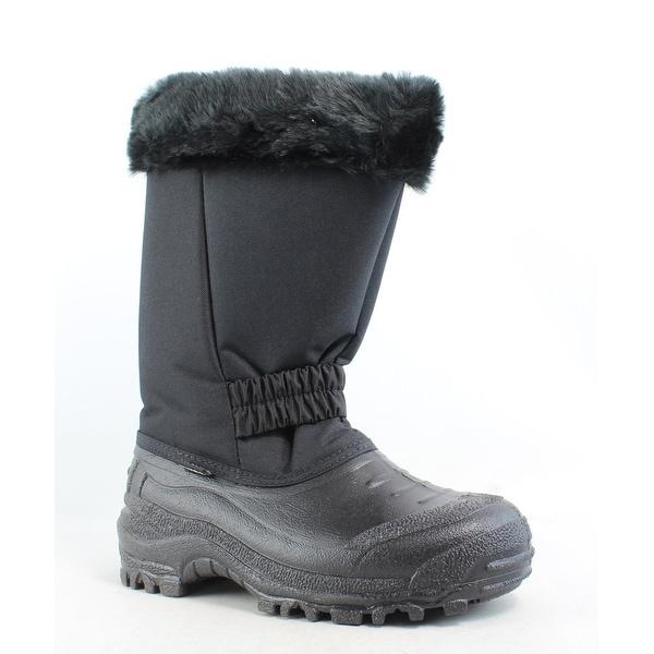 Tundra Womens Glacier Black Snow Boots Size 7
