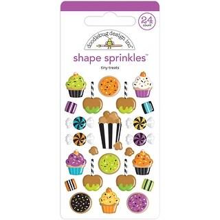 Doodlebug Sprinkles Adhesive Glossy Enamel Shapes-Tiny Treats