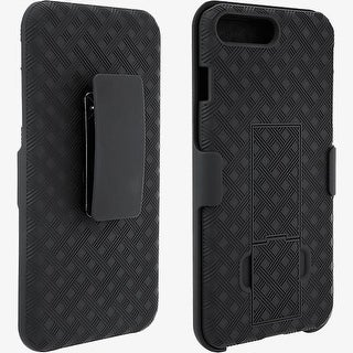 Unlimited Cellular Kickstand Holster for Apple iPhone 7 Plus, 6s Plus, 6 Plus (B