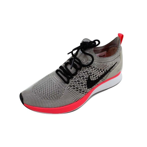 buy popular d1ab1 cd55f ... Women s Athletic Shoes. Nike Women  x27 s Air Zoom Mariah Flyknit Racer  Premium String Black-