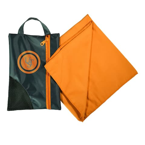 UST 20-CCR0008-08 Super-Absorbent MicroFiber Towel / 1.0, Orange