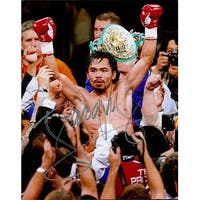 Signed Pacquiao Manny PacMan 8x10 Photo autographed