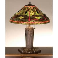 Meyda Tiffany 26680 Tiffany Three Light Table Lamp - n/a