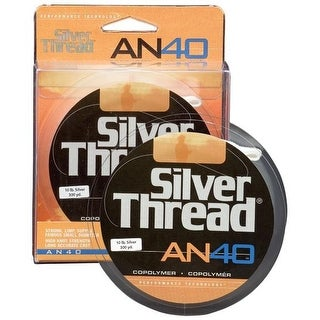 Silver Thread AN40 Silver Fishing Line Filler Spool (300 yds) - 10 lb Test