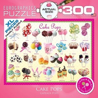 Cake Pops 300 Piece Puzzle