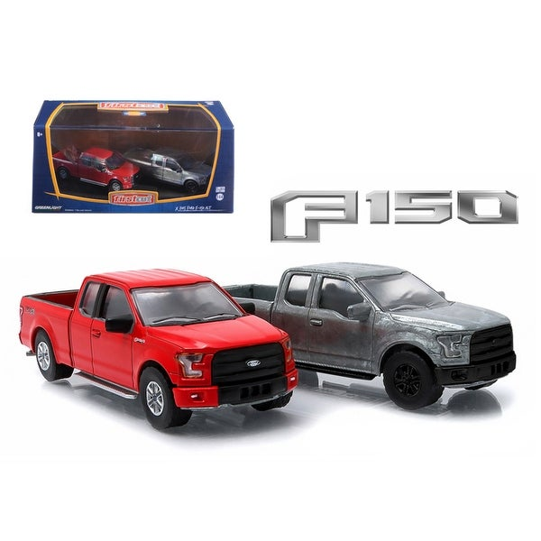 Shop  Ford F  Pickup Trucks Hobby Only Exclusive  Cars Set  Cast Models By Greenlight Free Shipping On Orders Over  Overstock
