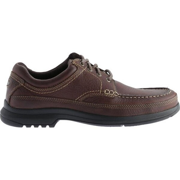 Men/'s Dark Tan Banni Moc-Toe Sneakers Rockport K54422
