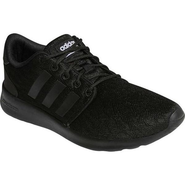 3d0d9b80945 Shop adidas Women s Cloudfoam QT Racer Sneaker Core Black Core Black ...