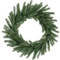 "16"" Mini Pine Artificial Christmas Wreath - Unlit - green"