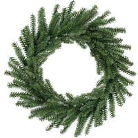 "16"" Mini Pine Artificial Christmas Wreath - Unlit"
