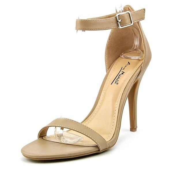 Anne Michelle Enzo Women  Open Toe Synthetic Nude Sandals