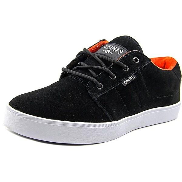 Osiris Mesa Men Round Toe Suede Black Skate Shoe