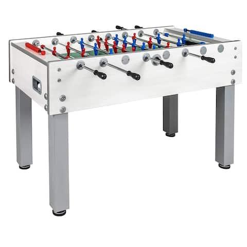 Garlando G-500 Pure White Outdoor Foosball Table / 26-7838