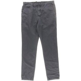 Michael Kors Mens Linen Blend Solid Chino Pants - 34