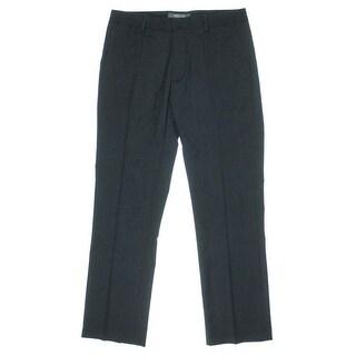 Kenneth Cole Reaction Mens Glen Plaid Woven Dress Pants
