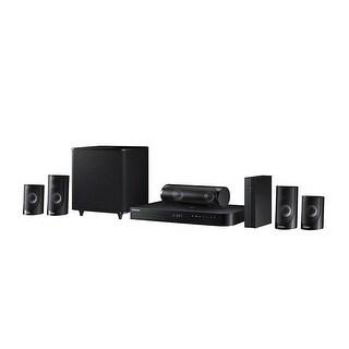 Samsung HT-J5500W 5.1-Ch Home Theater System 1000W 3D Blu-ray Wi-Fi Certified Refurbished - Black