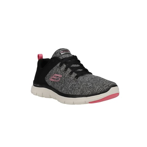 Skechers Flex Appeal 4.0 Lace Up Womens Sneakers Shoes Casual -