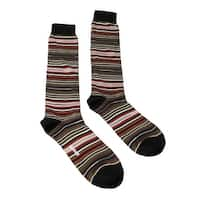 Missoni GM00CMU5234 0001 Olive/Red Knee Length Socks