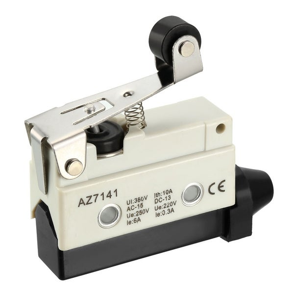 uxcell AZ-7311 Roller Plunger Micro Limit Switch Momentary Panel Mount 1NC+1NO