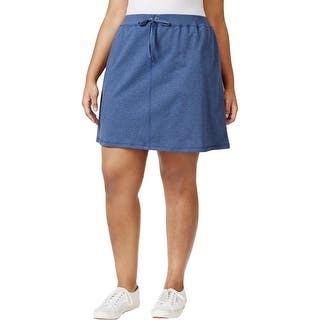 Karen Scott Womens Plus Skort French Terry Heathered Blue 0X https://ak1.ostkcdn.com/images/products/is/images/direct/1f23bad7562fe10dbeec41f617ced6e4371b9dc4/Karen-Scott-Womens-Plus-Skort-French-Terry-Heathered-Blue-0X.jpg?impolicy=medium