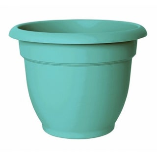 "Bloem AP0627 Ariana Planter with Self-Watering Disc Insert, Calypso, 6"""