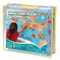 World Foam Map Puzzle