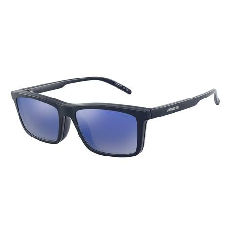 Arnette AN4274 26741W 55 Matte Blue Man Pillow Sunglasses