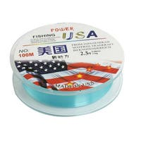 Father's Day 109Yds/100M 0.26mm 24.3 lbs Nylon Spool Fishing Line