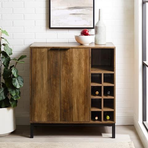 Carson Carrington Trosa Bar Cabinet with Bottle Storage