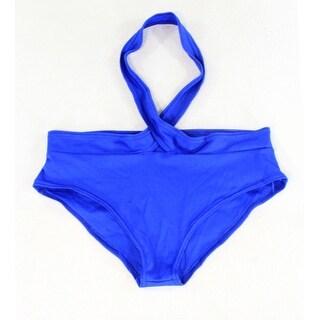 Vestidos NEW Cobalt Blue Womens Size XL Strap Bikini Bottom Swimwear